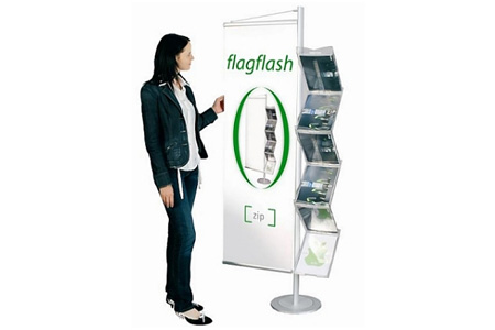 Flagflash Poster Brochure Holder