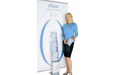 Showzip Banner and Brochure Display