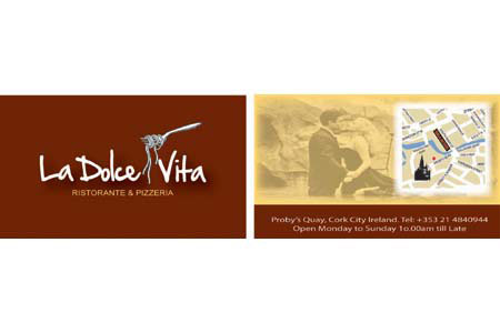 La Dolce Vita Business Cards