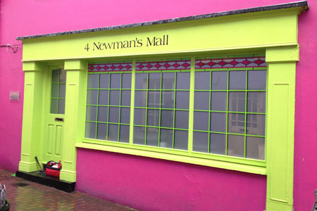 Window Graphics and Etched Glass Newmans Mall