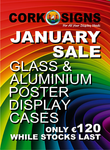 January Sale at Cork Signs