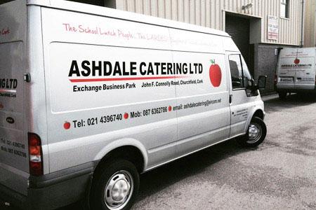 Ashdale catering van