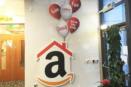 Amazon raised PVC baloons