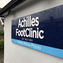 Achilles Foot Clinic - By Cork Signs