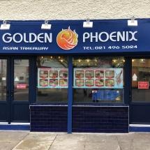 Golden Phoenix - By Cork Signs