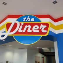 The Diner - By Cork Signs